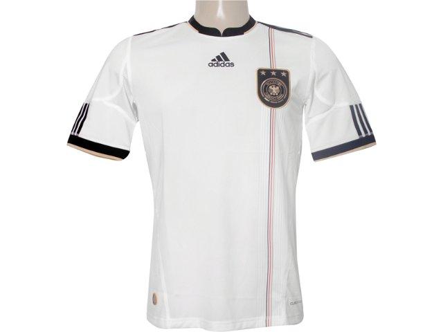Camiseta Masculina Adidas P41477 Alemanha Branco