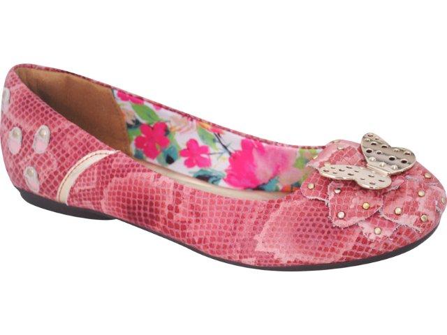 Sapatilha Feminina Tanara 1813 Pink