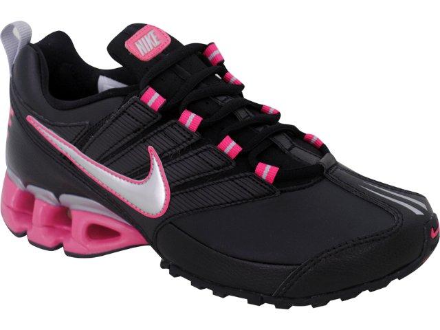 Tênis Feminino Nike Impax 442472-002 Preto/pink