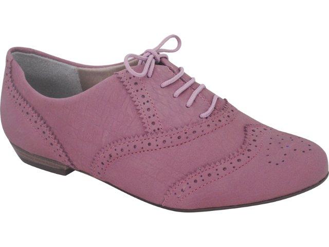 Sapato Feminino Ramarim Oxford 119101 Orquidea