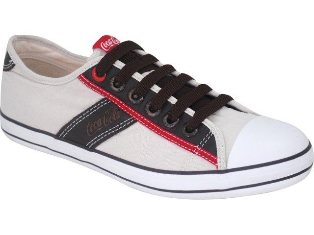 Tênis Masculino Coca-cola Shoes C0101701 Areia
