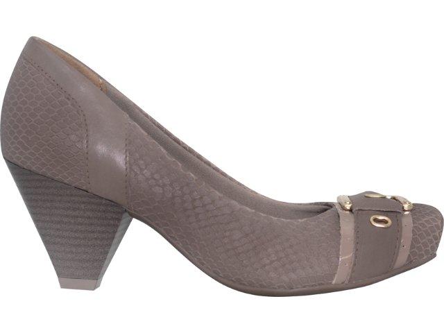 Sapato Feminino Via Marte 11-5709 Amendoa