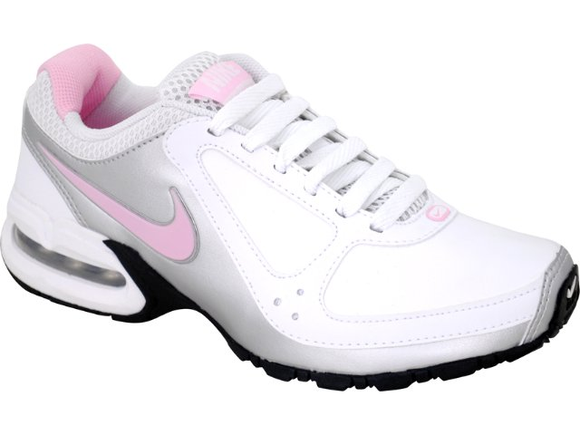 Tênis Feminino Nike 445758-101 Air Max Branco/pta/rosa