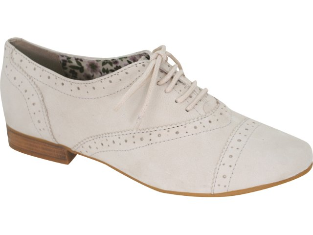 Sapato Feminino Bottero Oxford 140802 Gengibre