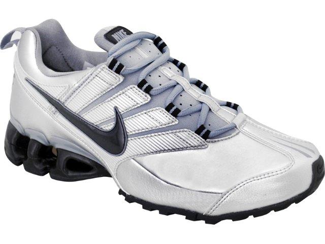 Tênis Masculino Nike Impax Contain 371343-005 Cinza/pto
