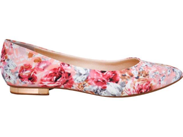 Sapato Feminino Vizzano 1099100 Rosa