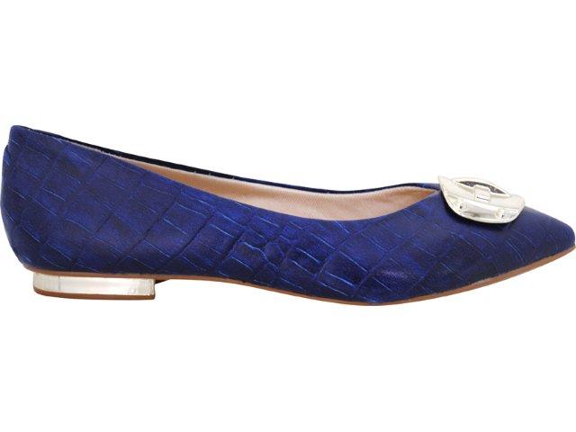 Sapato Feminino Vizzano 1099101 Azul