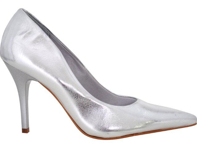Sapato Feminino Vizzano 1071100 Prata