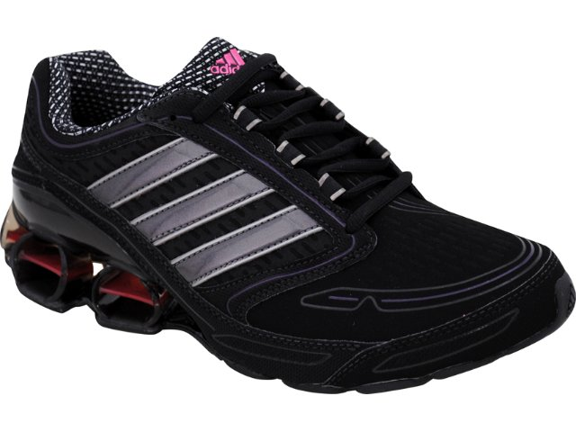 Tênis Feminino Adidas Devotion G43298 Preto/cinza
