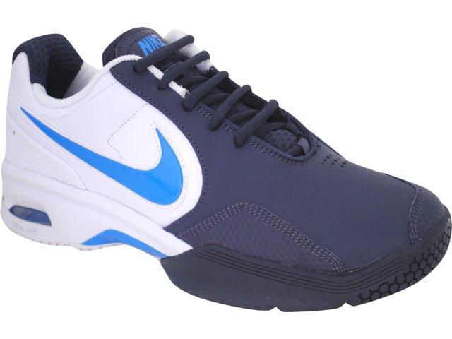 Tênis Masculino Nike 429753-104 Courtballistec Branco/marinho