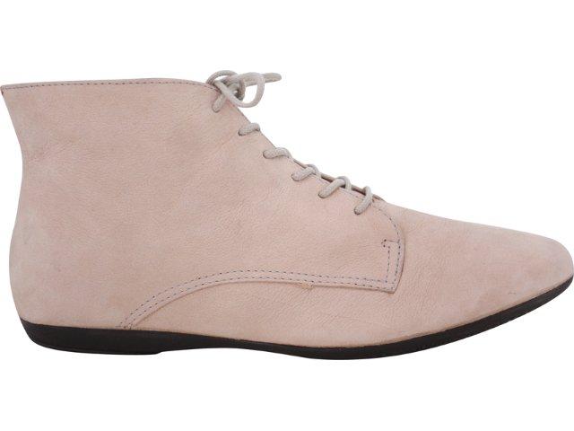 Sapato Feminino Bottero Oxford 140903 Nude