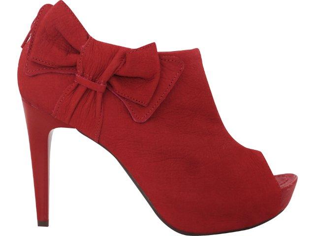 Summer Boot Feminina Ramarim 1129101 Vermelho