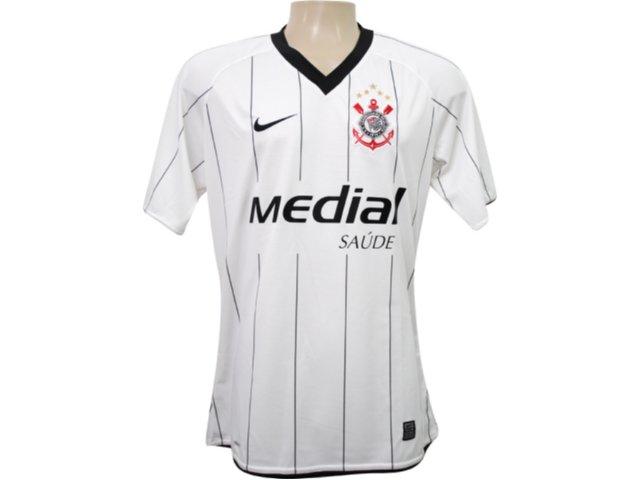 Camisa Feminina Nike 268316-100 Corinthians Branco