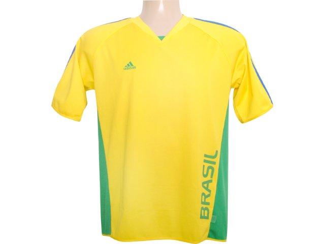Camiseta Masculina Adidas 838705 Amarelo