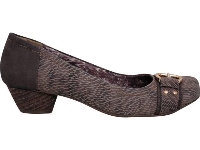 Sapato Feminino Via Marte 11-8201 Rato
