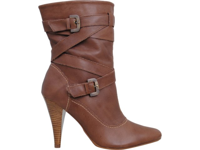 Bota Feminina Via Marte 09-9505 Chocolate