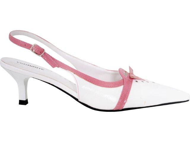 Chanel(x) Feminino Via Marte 05-6055 Branco/rosa