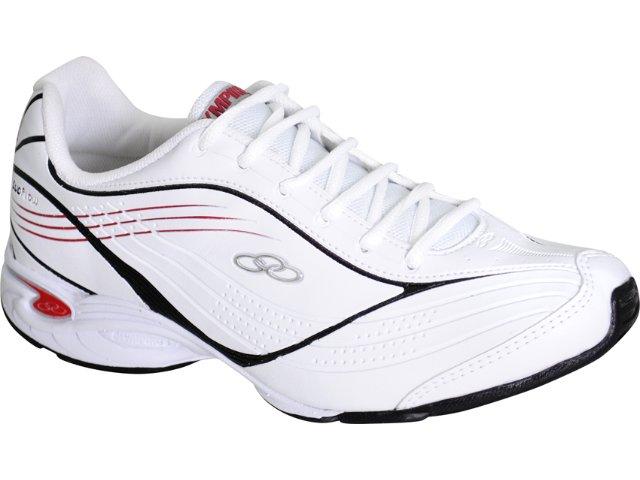 Tênis Masculino Olympikus Energy 568 Bco/bordo