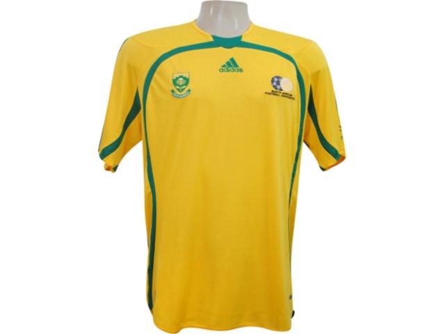 Camiseta Masculina Adidas 740153 Amarelo