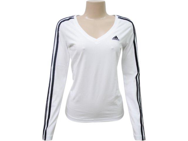 Blusa Feminina Adidas P79500 Branco
