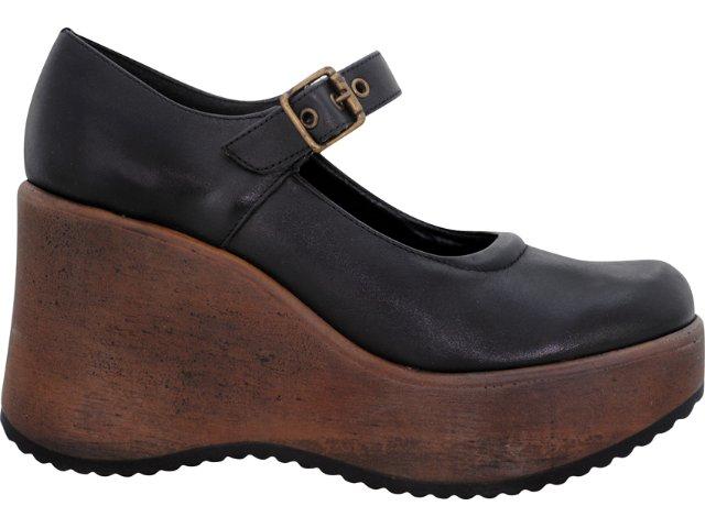 Sapato Feminino Via Marte 04-3908 Preto
