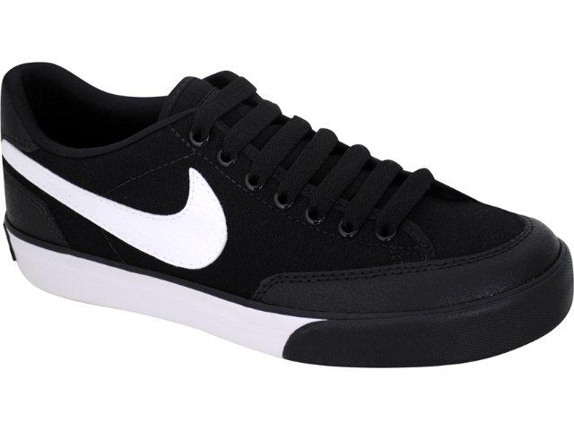 Tênis Masculino Nike Navaro 429782-002  Preto/branco