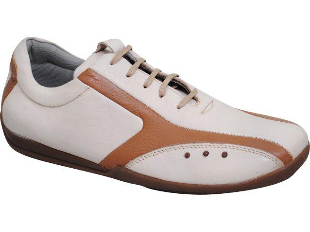 Sapato Masculino Democrata 232002 Caramelo