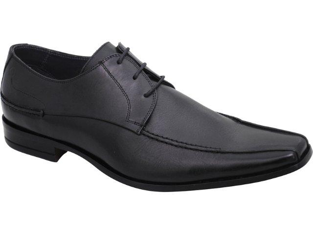 Sapato Masculino Democrata 334039 Preto