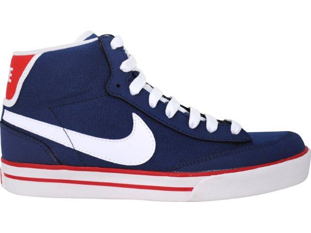 Tênis Masculino Nike 455658-401 Navaro Jeans Branco