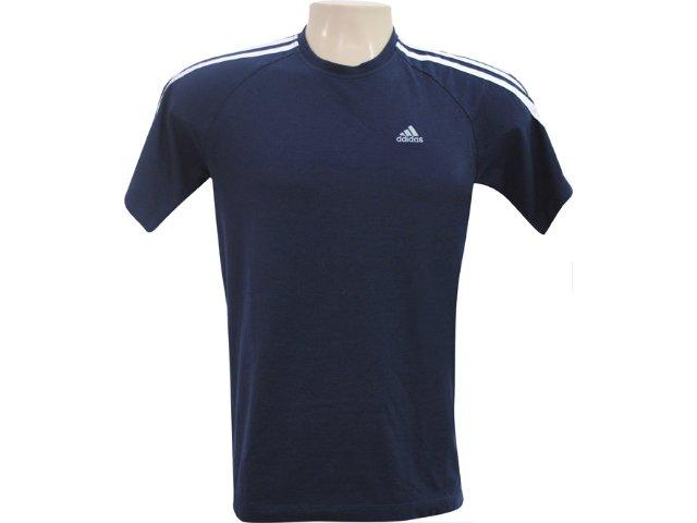 Camiseta Masculina Adidas 946572 Marinho