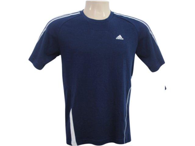 Camiseta Masculina Adidas E12897 Marinho