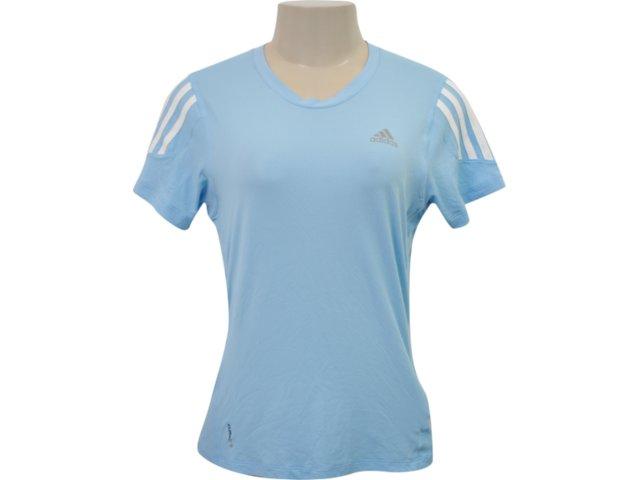 Camiseta Feminina Adidas P14707 Azul