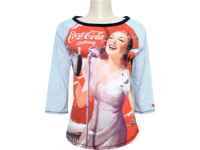 Blusa Feminina Coca-cola Shoes 363201943 Cinza