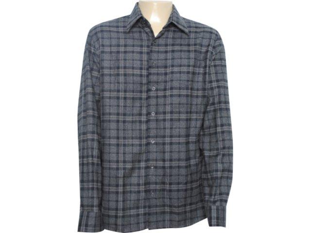 Camisa Masculina Individual 302.498.700 Chumbo