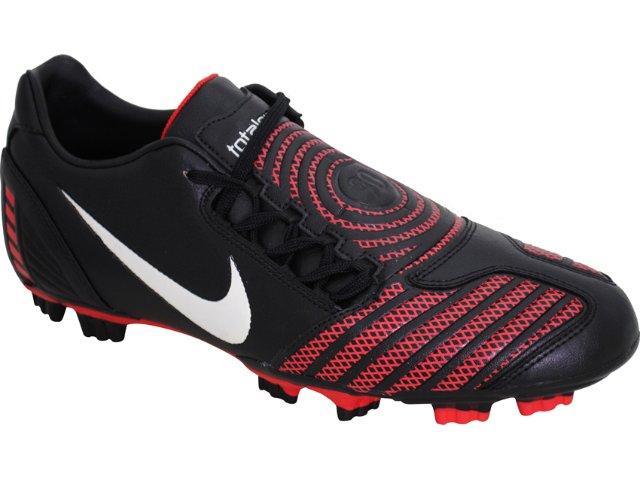 Chuteira Masculina Nike 318887-016 Preto/vermelho
