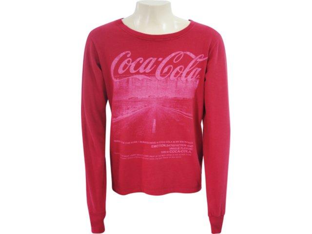 Camiseta Masculina Coca-cola Shoes 353202380 Vermelho