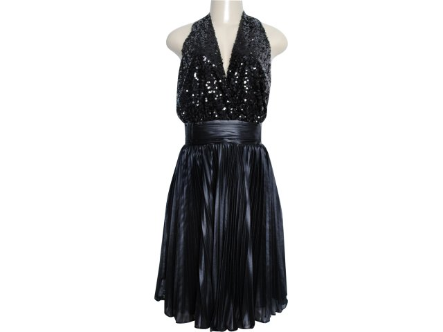 Vestido Feminino Moikana 3029 Preto