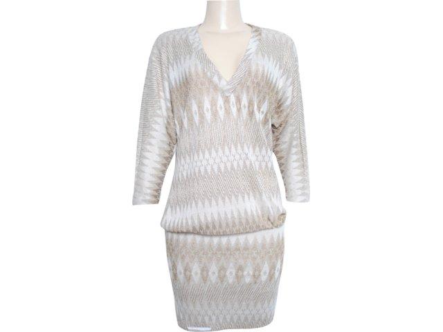 Vestido Feminino Moikana 3002 Bege