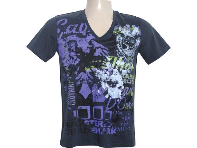 Camiseta Masculina Cavalera Clothing 01.01.5708 Preto