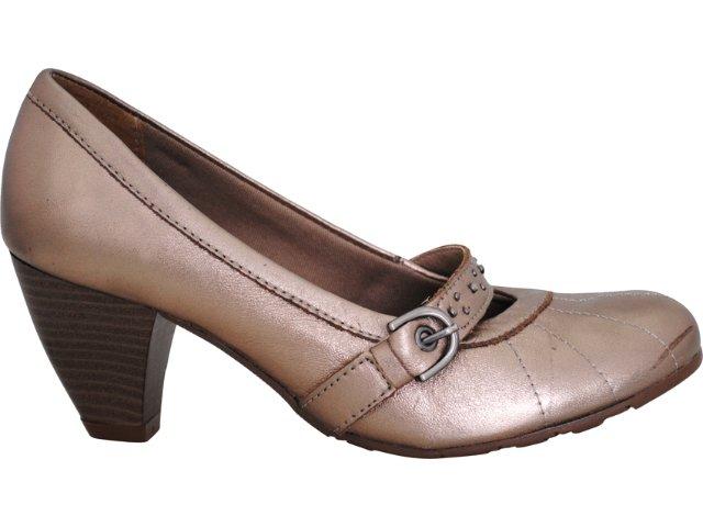 Sapato Feminino Via Marte 10-6005 Grafite