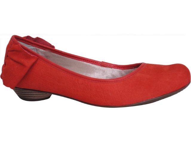 Sapato Feminino Ramarim 111101 Vermelho