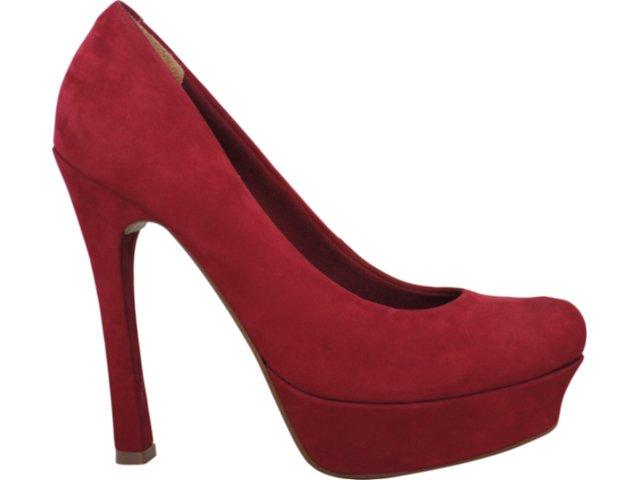 Sapato Feminino Via Marte 11-5403 Vermelho