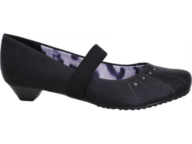 Sapato Feminino Via Marte 10-6511 Preto