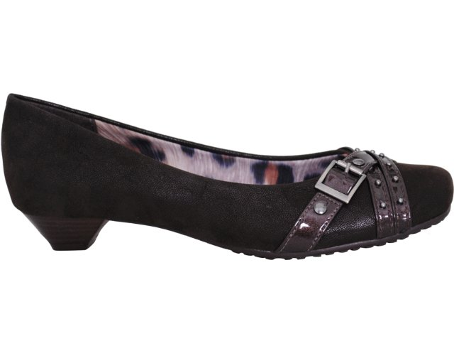 Sapato Feminino Via Marte 10-6507 Café