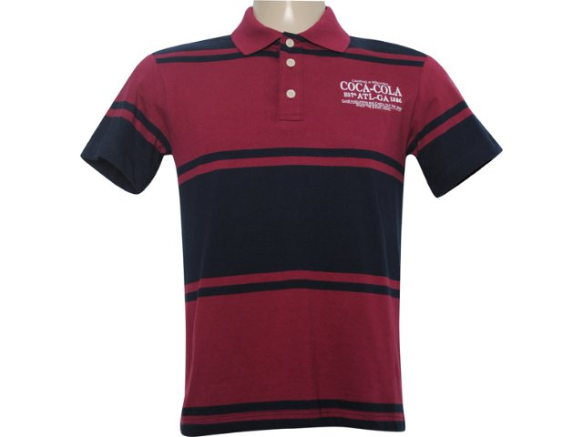 Camiseta Masculina Coca-cola Clothing 253200305 Bordo