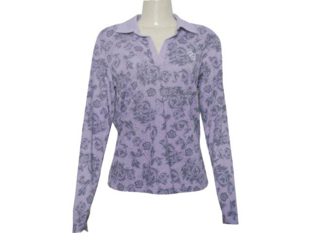 Camisa Feminina Criativa 93222 Roxo
