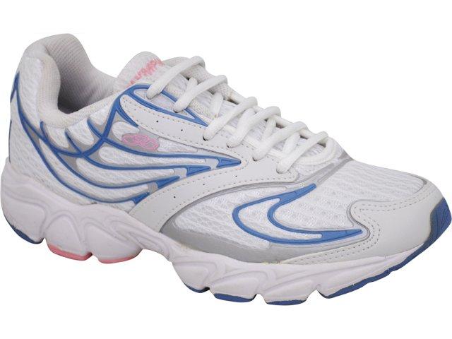 Tênis Feminino Olympikus 432 Expert Branco/jeans