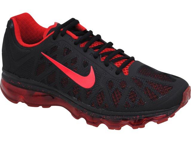 Tênis Masculino Nike Air Max 429889-060 Preto/vermelho