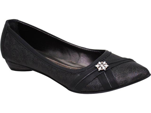 Sapato Feminino Tanara 7521 Preto