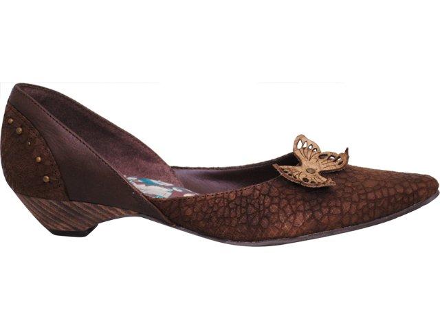 Sapato Feminino Tanara 6161 Tabaco